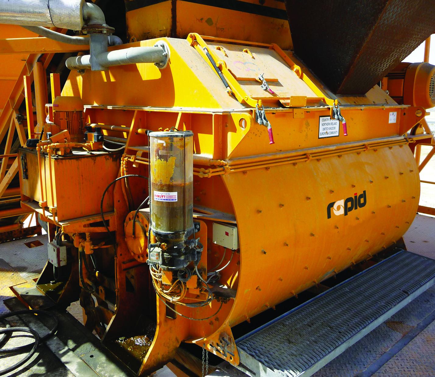 Twin-Shaft Mixers - J McCoy Equipment